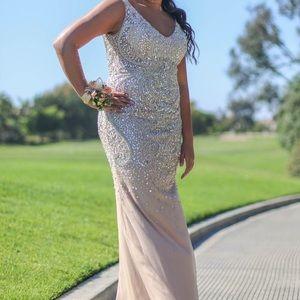 Dresses & Skirts - BEAUTIFUL beaded prom dress!!  intricate design